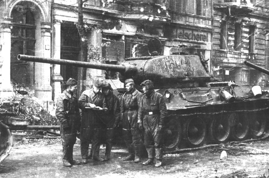 Боевой путь 1 гвардейской танковой армии